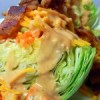 Wedge Salad with Creamy Pendleton Barbeque Dressing! Perfect for Father's Day (Really!)
