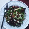 Pomegranate, Fennel, and Beet Salad with Strawberry Vinaigrette