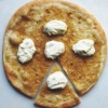 Apple Fennel Chutney Pizza with Fresh Ricotta Cheese