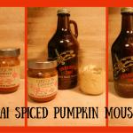 Chai Spiced Pumpkin Mousse!