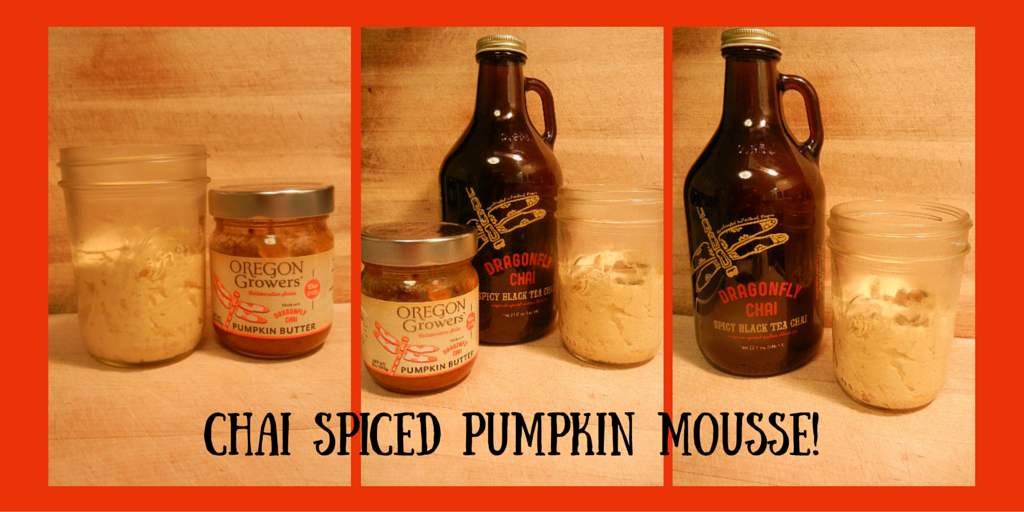 Chai Spiced Pumpkin Mousse!